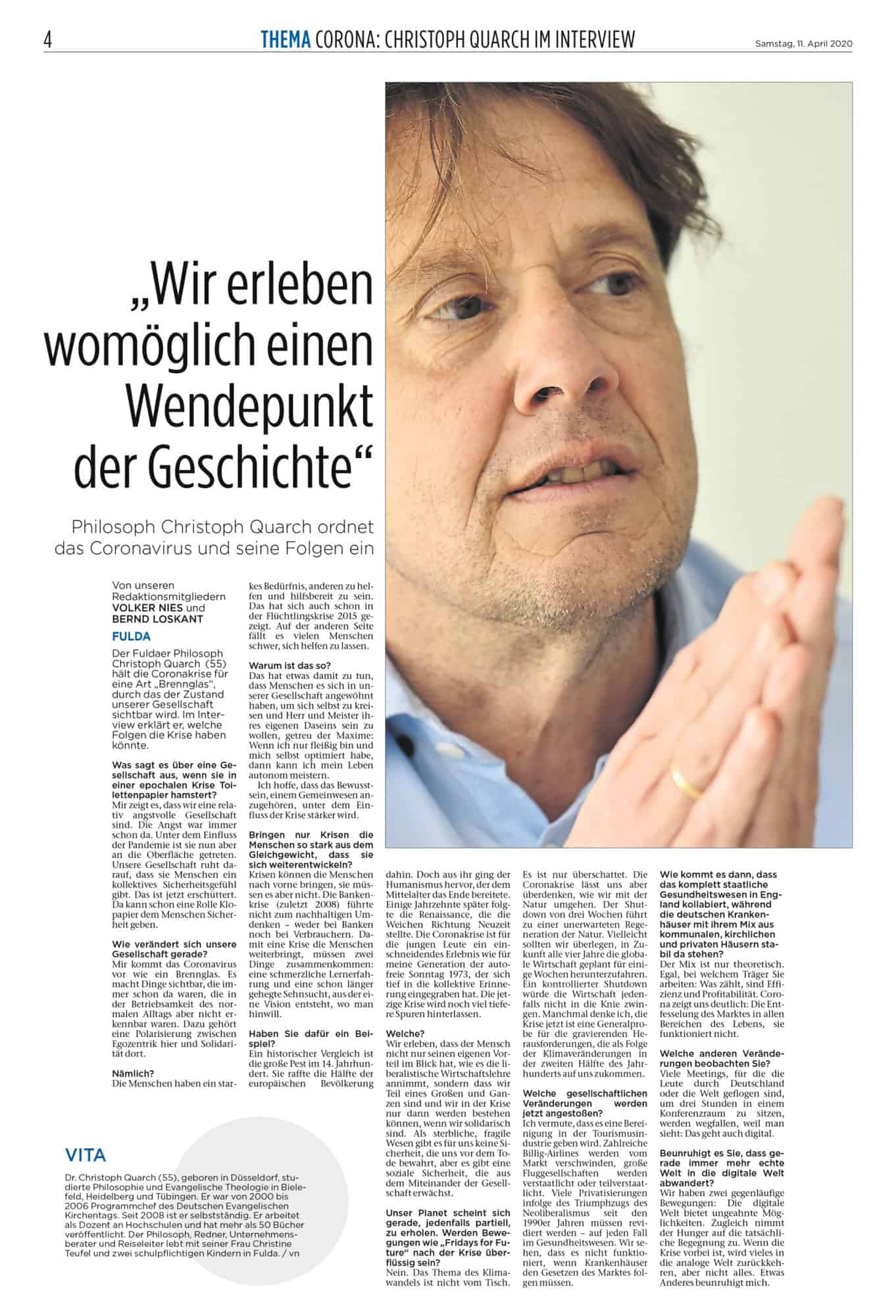 Media Library Dr Phil Christoph Quarch